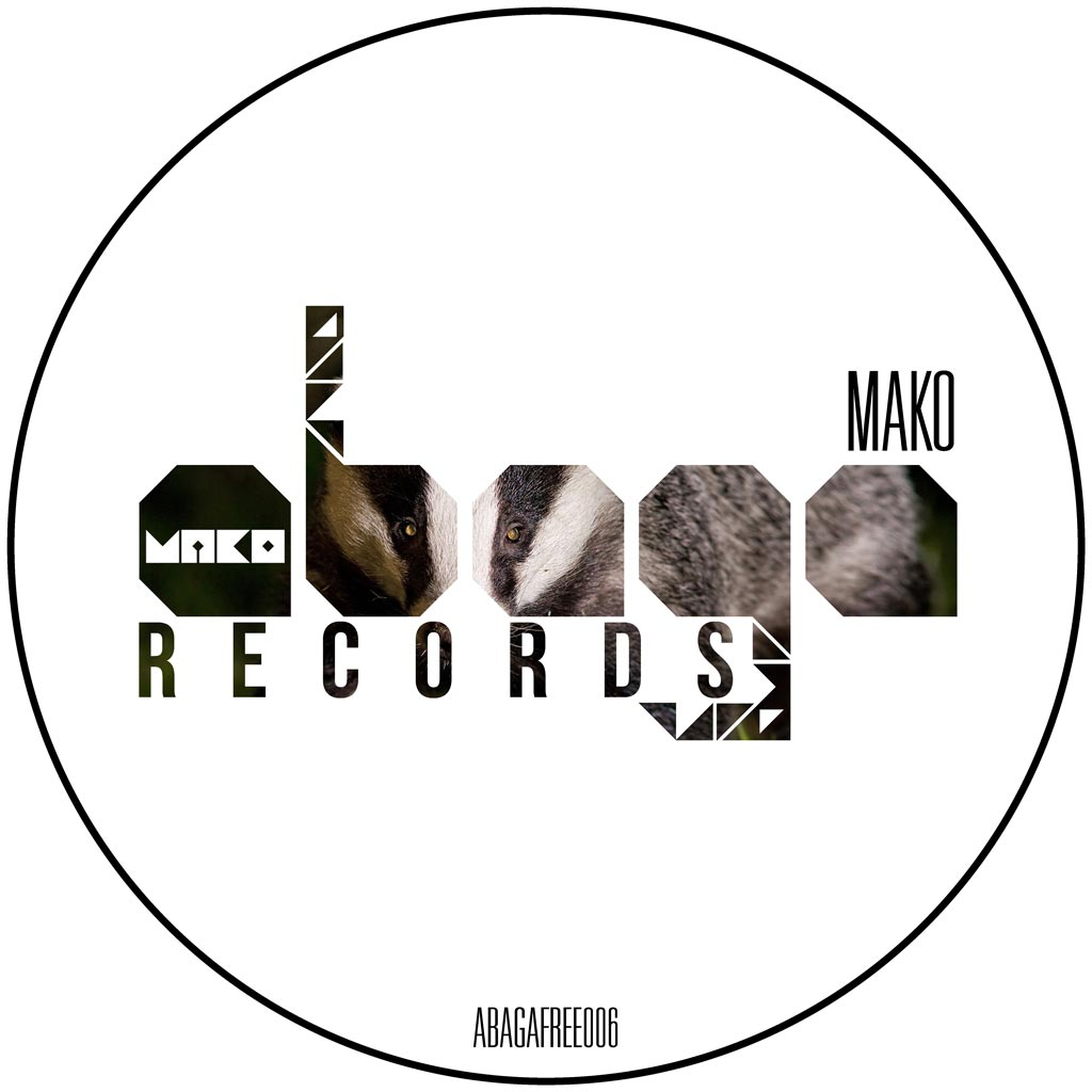 abagafree006-mako-the_space_badgers_ep-cover